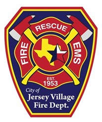 Jersey Village Fire Department Patch