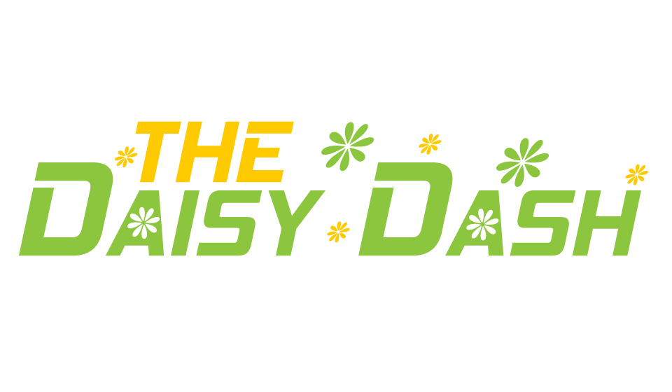 Daisy Dash Logo with Flower