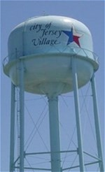 Jersey Village Water Tower